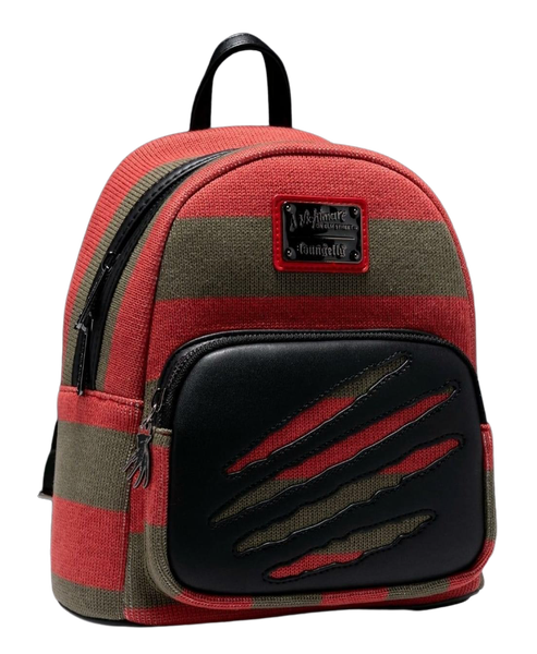 NIGHTMARE ON ELM ST Freddy Sweater Mini Backpack  [PRE-ORDER - SEPTEMBER DELIVERY] LOUNGEFLY