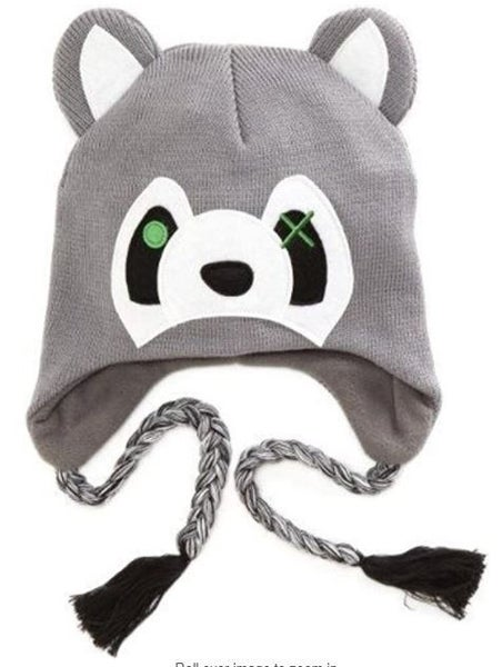 Laplander Beanie Raccoon Headwear Anime Hat BIOWORLD