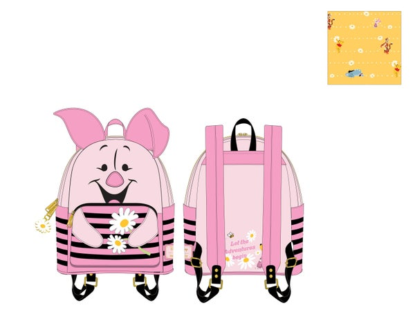 Winnie the Pooh Piglet Cosplay Mini Backpack Loungefly - PRE-ORDER expected late March