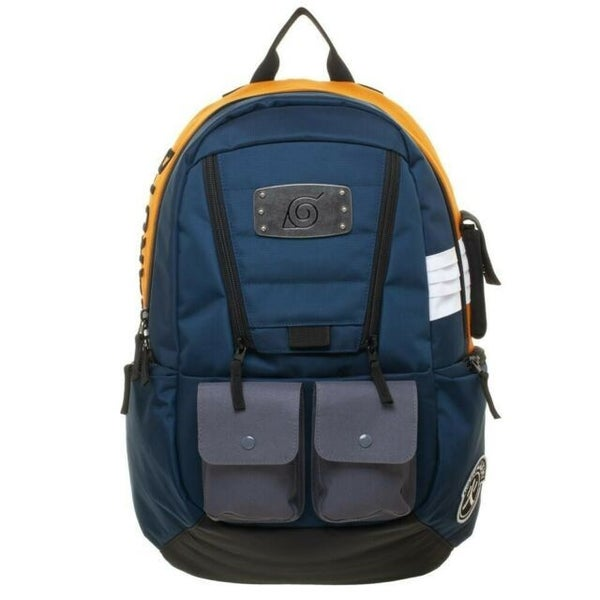 Naruto Shippuden Hidden Leaf Village  Anime Full Sized Backpack Bag