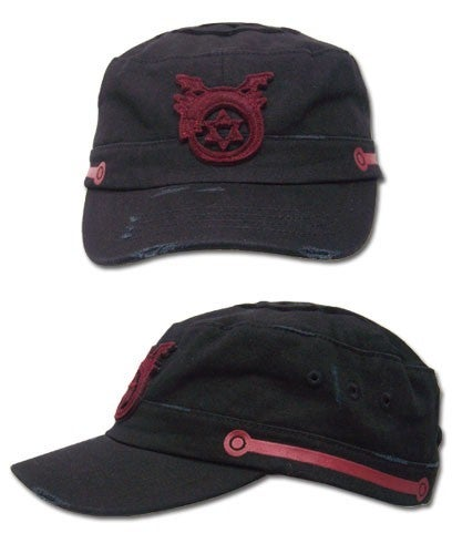 Full Metal Alchemist Ouroboros Distressed Cadet Cap
