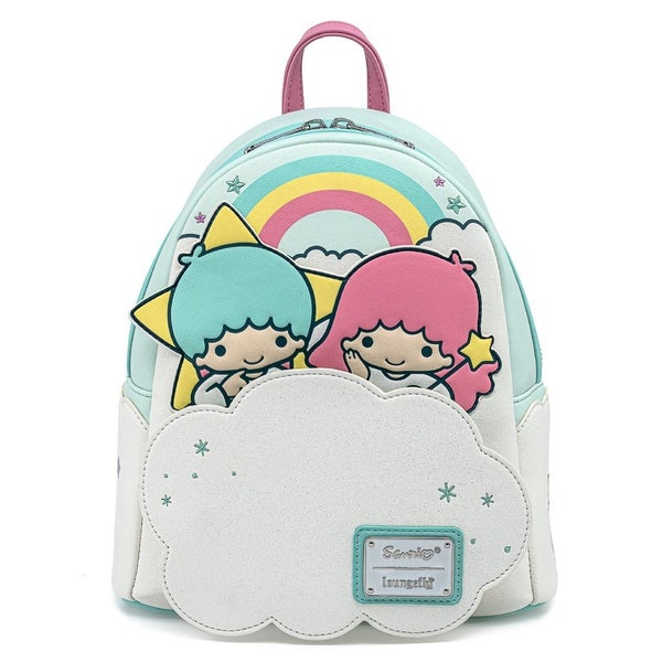 Sanrio Little Twin Stars Rainbow Cloud Mini Backpack Loungefly