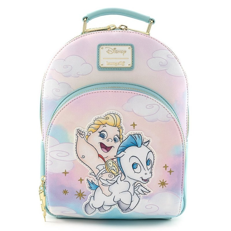 LOUNGEFLY DISNEY HERCULES BABY HERC AND PEGASUS MINI BACKPACK AND/OR WALLET