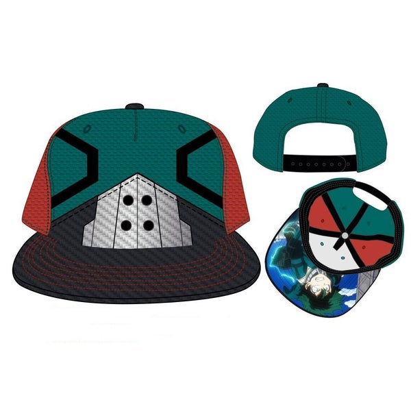 My Hero Academia Deku Suitup Pre-Curved Bill Snapback