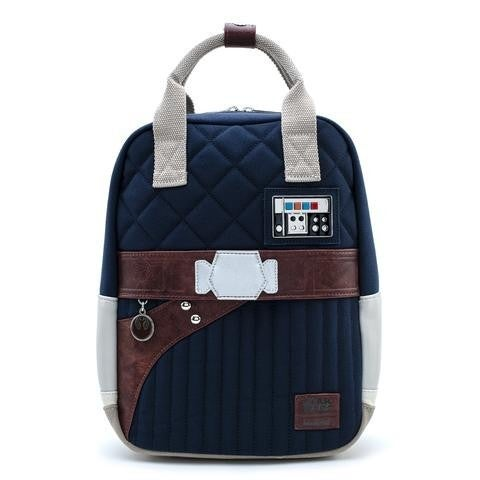 Star Wars The Empire Strikes Back 40th Anniversary Han Solo Hoth Outfit Mini Backpack Loungefly