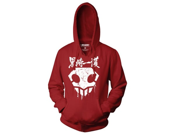BLEACH SKULL Shinigami  Pull Over Hoodie