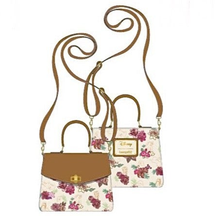 DISNEY PRINCESS Floral SET or CROSSBODY options [PRE-ORDER - OCTOBER DELIVERY] LOUNGEFLY