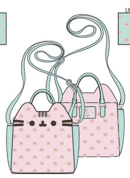 Pusheen Big Kitty Donuts Crossbody Bag  [PRE-ORDER - SEPTEMBER DELIVERY] LOUNGEFLY