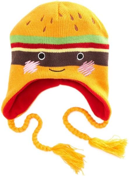 Laplander Beanie Cheeseburger Headwear Anime Hat BIOWORLD