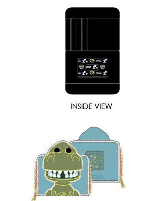 Toy Story Rex Wallet Zip Around Loungefly PRE-ORDER shipping August