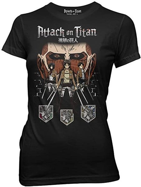 Attack on Titan group juniors t-shirt