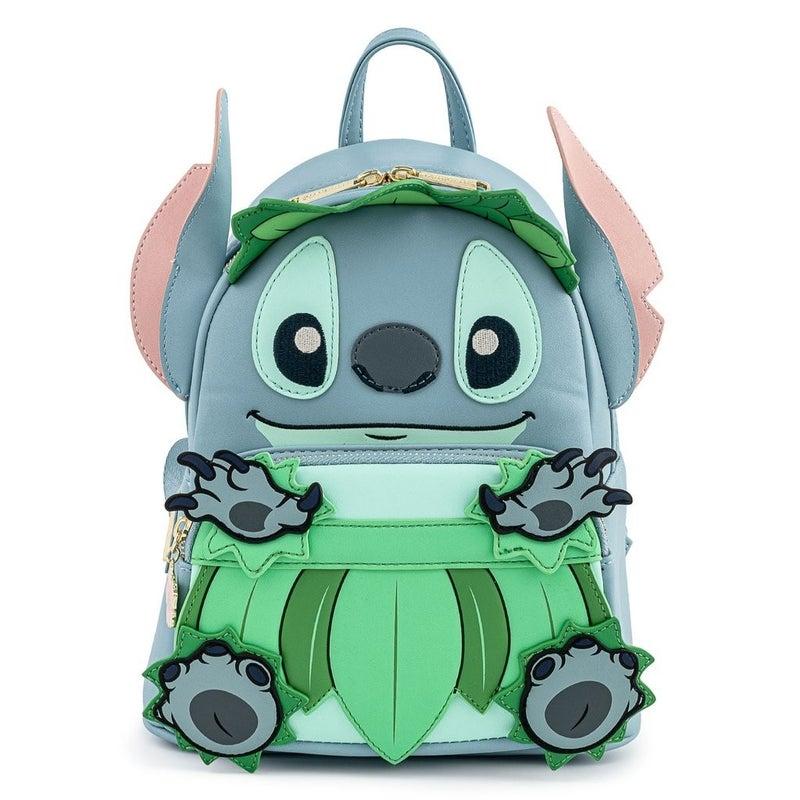 Stitch Luau Cosplay Mini Backpack Loungefly