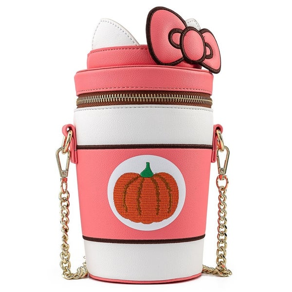 Hello Kitty Pumpkin Spice Crossbody  LOUNGEFLY