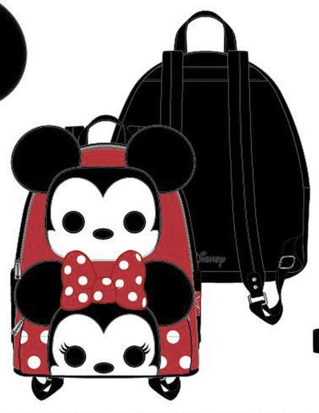 Pop Loungefly Disney Mickey & Minnie Pin Collector Mini BACKPACK, WALLET & SET options PRE-ORDER Nov/Dec