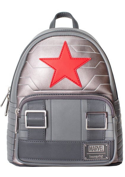 Marvel Winter Soldier Bucky Cosplay BACKPACK, WALLET or SET options Loungefly