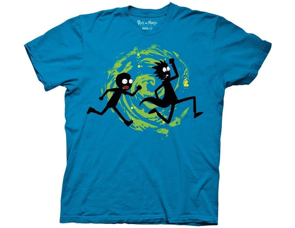 Rick and Morty Forever Silhouette t-shirt