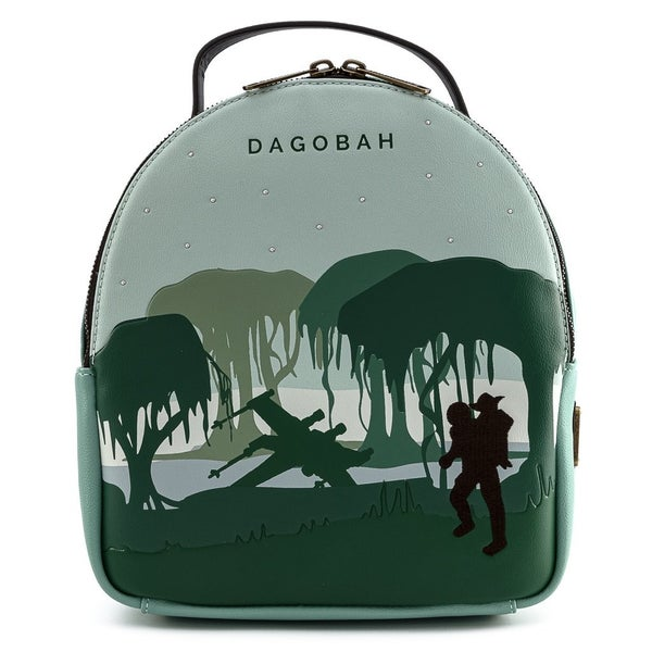 Star Wars Dagobah Mini-Backpack Set with Pouch Loungefly