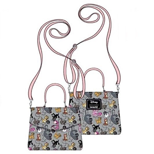 DISNEY Cats Wallet SET or CROSSBODY options [PRE-ORDER - OCTOBER DELIVERY] LOUNGEFLY