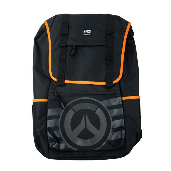 Overwatch Backpack Black on Black  Loungefly