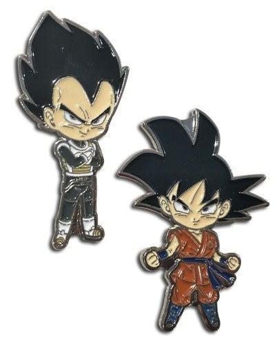 DRAGON BALL SUPER - GOKU & VEGETA ENAMEL PINS
