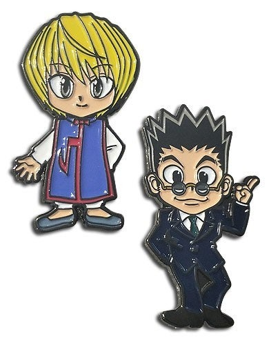 HUNTER X HUNTER - KURAPIKA & REOLION ENAMEL PIN SET