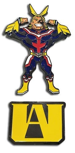 MY HERO ACADEMIA - UA HS & ALLMIGHT PIN