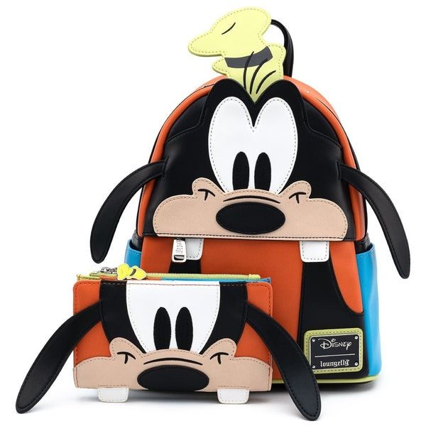 Disney Goofy Cosplay Mini-Backpack and / or Wallet Set Loungefly
