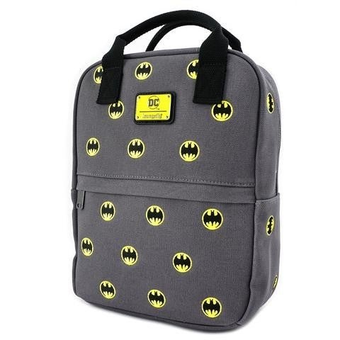 DC Batman 80th Canvas AOP Backpack Loungefly