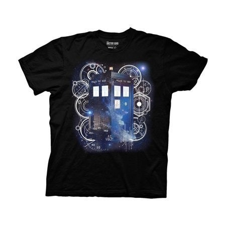 Doctor Who Tardis & Gears T-shirt