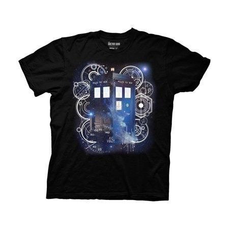 Doctor Who Tardis & Gears T-shirt