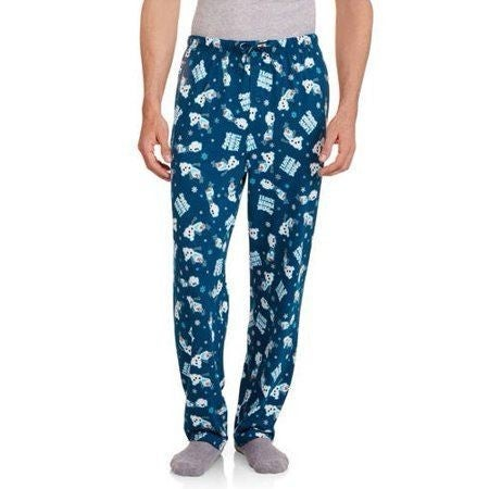 Disney Frozen Olaf Sleep Pants Men's Small