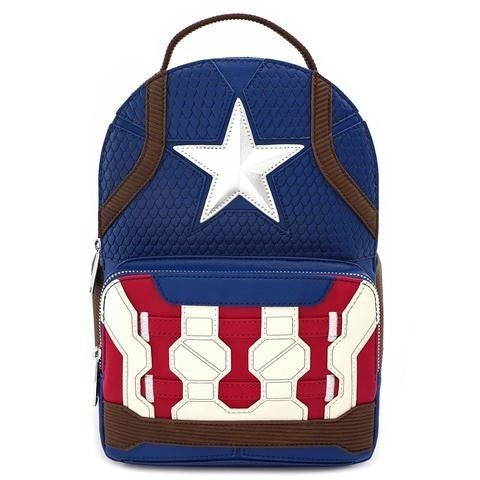Marvel Captain America End Game Hero Mini Backpack Loungefly