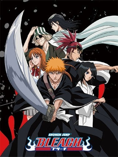 BLEACH - GROUP SUBLIMATION THROW BLANKET