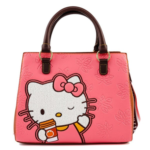 Hello Kitty Spice Latte Wave Crossbody  LOUNGEFLY
