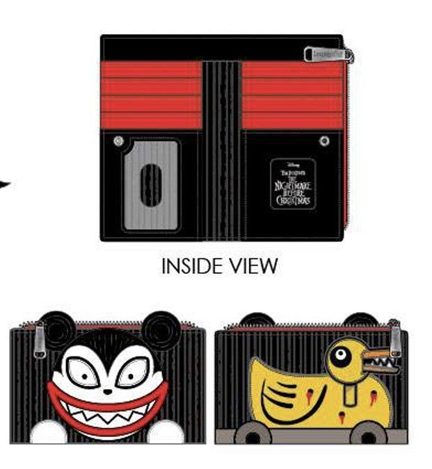 NBC Scary Teddy and Undead Duck Wallet Loungefly PRE-ORDER shipping August