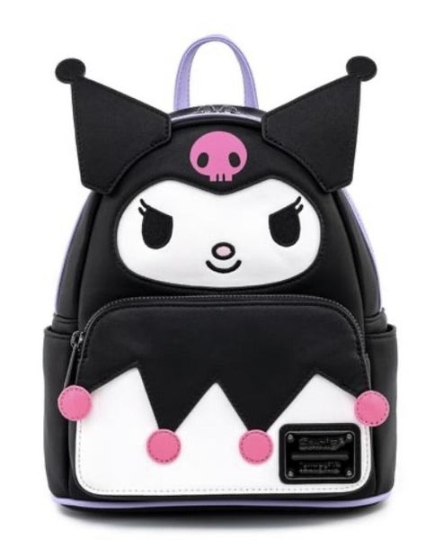 Kuromi Cosplay Wallet Sanrio SET, BAG & WALLET options Loungefly