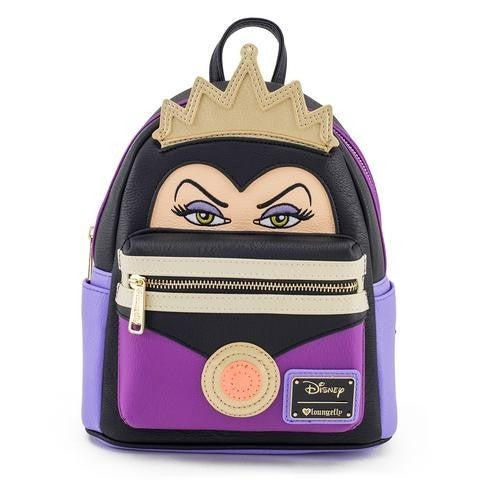 Disney Evil Queen Face Loungefly Mini Backpack