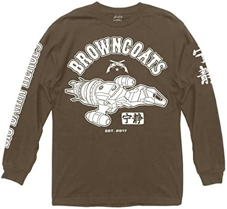 Firefly Browncoats Long Sleeve t-shirt