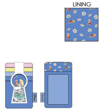 PREORDER Loungefly Disney Alice in Wonderland key hole cardholder Expected Late June