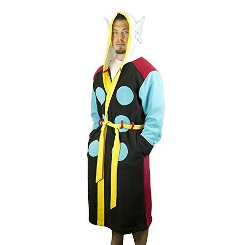 Marvel Comics - Thor - Hooded Costume Bathrobe with Belt (Small/Medium)