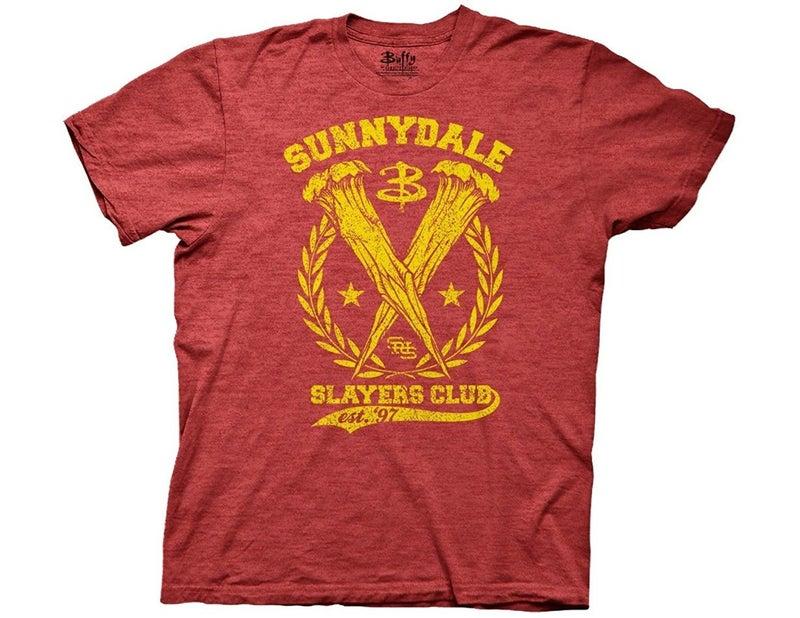 Buffy the Vampire Slayers Sunnydale Salyers T-shirt