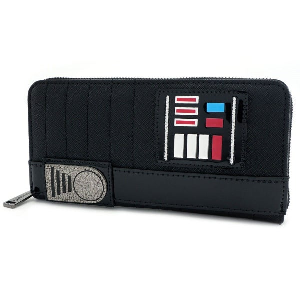 Star Wars Darth Vader Cosplay Zip Wallet Loungefly
