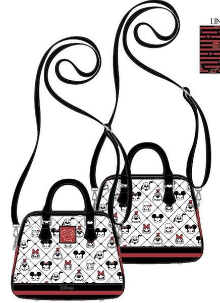 Disney Pop Mickey & Friends Sensational 6 AOP CROSSBODY, WALLET & SET Loungefly PRE-ORDER Nov/Dec
