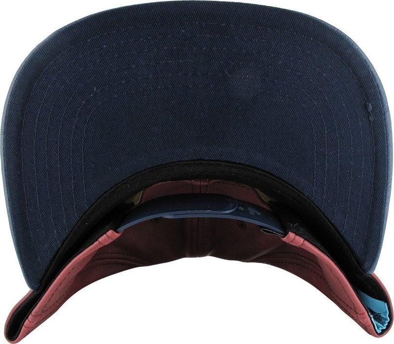 Wonder Woman Large Logo Faux Leather Snapback Hat