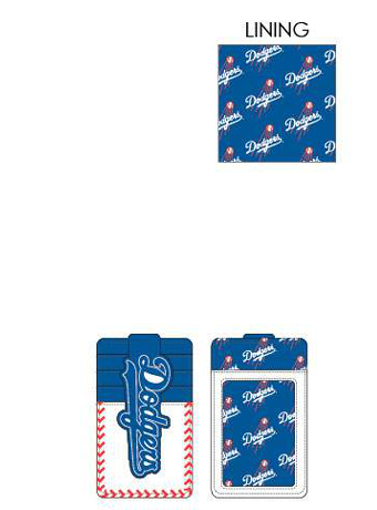 PREORDER Loungefly MLB Dodgers sea stitch cardholder Expected late June