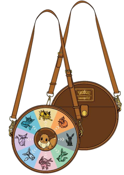 Eevee Evolutions Canteen Crossbody Loungefly