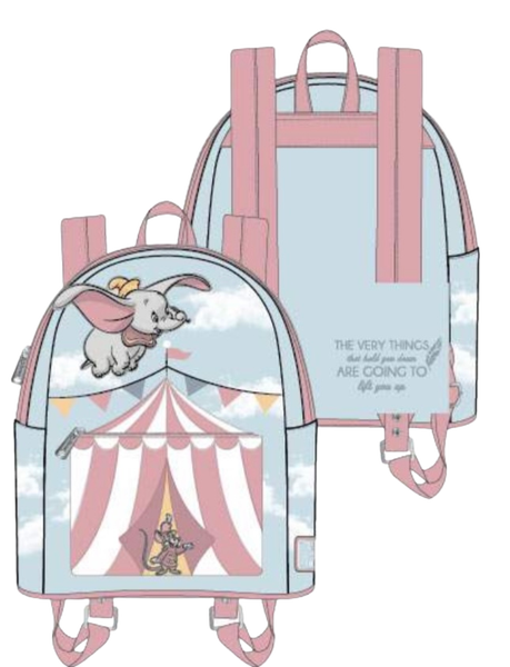 Dumbo Flying Circus Tent  Loungefly - PRE-Order Late February - duplicate