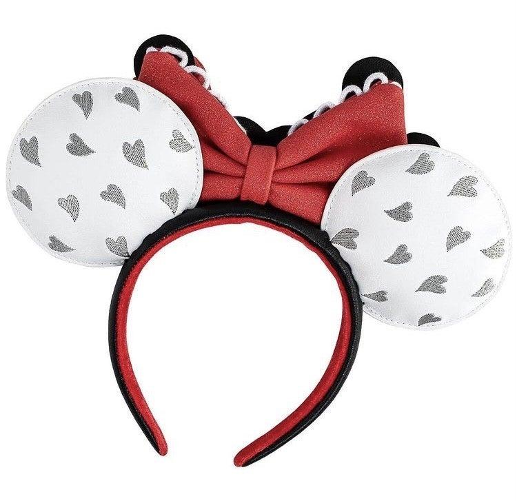 Mickey & Minnie Mouse Love Ears / Headband Disney Loungefly
