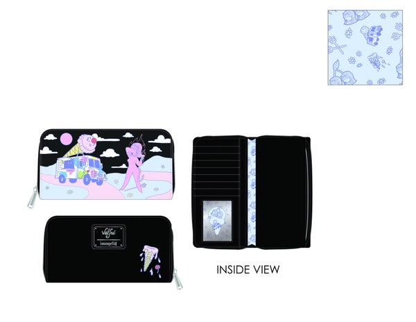 Valfre Lucy Art AOP Wallet Loungefly PRE-ORDER expected late March