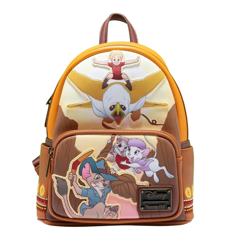 RESCUERS Down Under SET,  MINI BACKPACK or WALLET options LOUNGEFLY